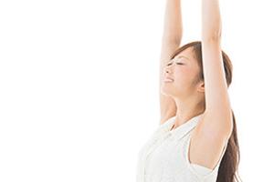 ミラドライは、一度の施術でわきが・多汗症に高い効果をもたらす