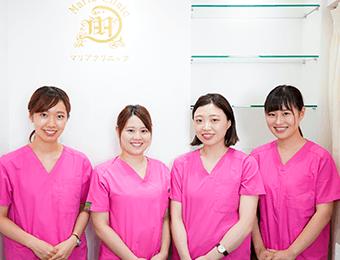 大宮マリアクリニックの医療レーザー脱毛はリラックスできる施術を目指しています